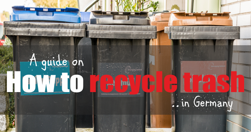 How to recycle trash in Germany | It's easier than you think