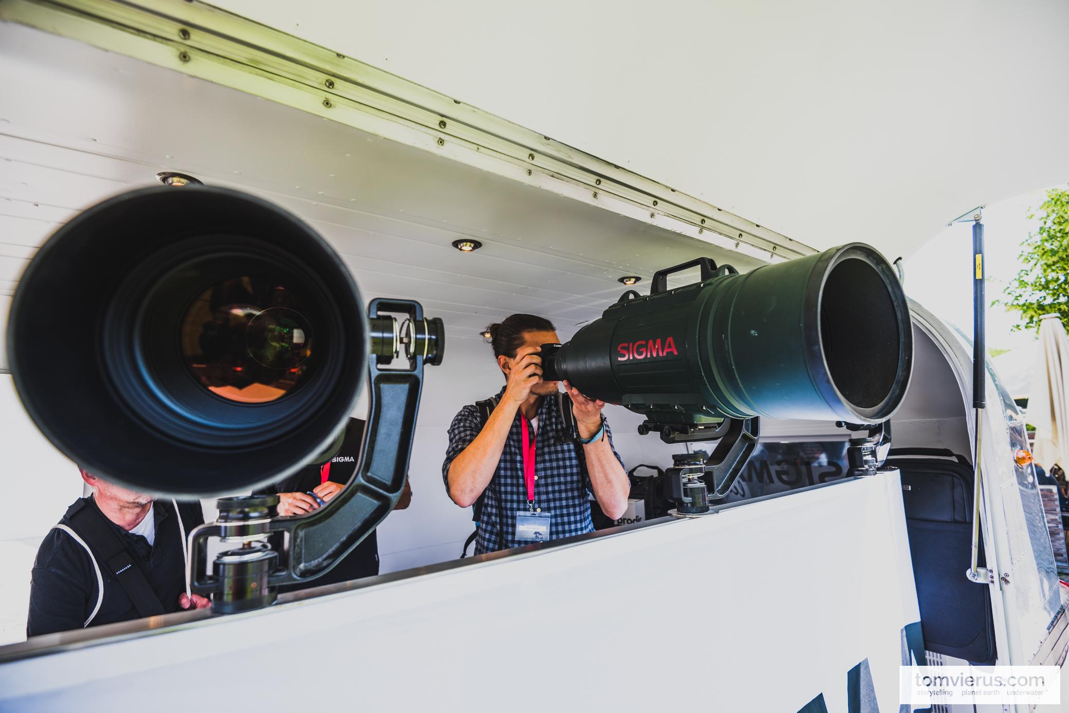 Signa lens, Tom Vierus, Photography, Festival, Glanzlichter