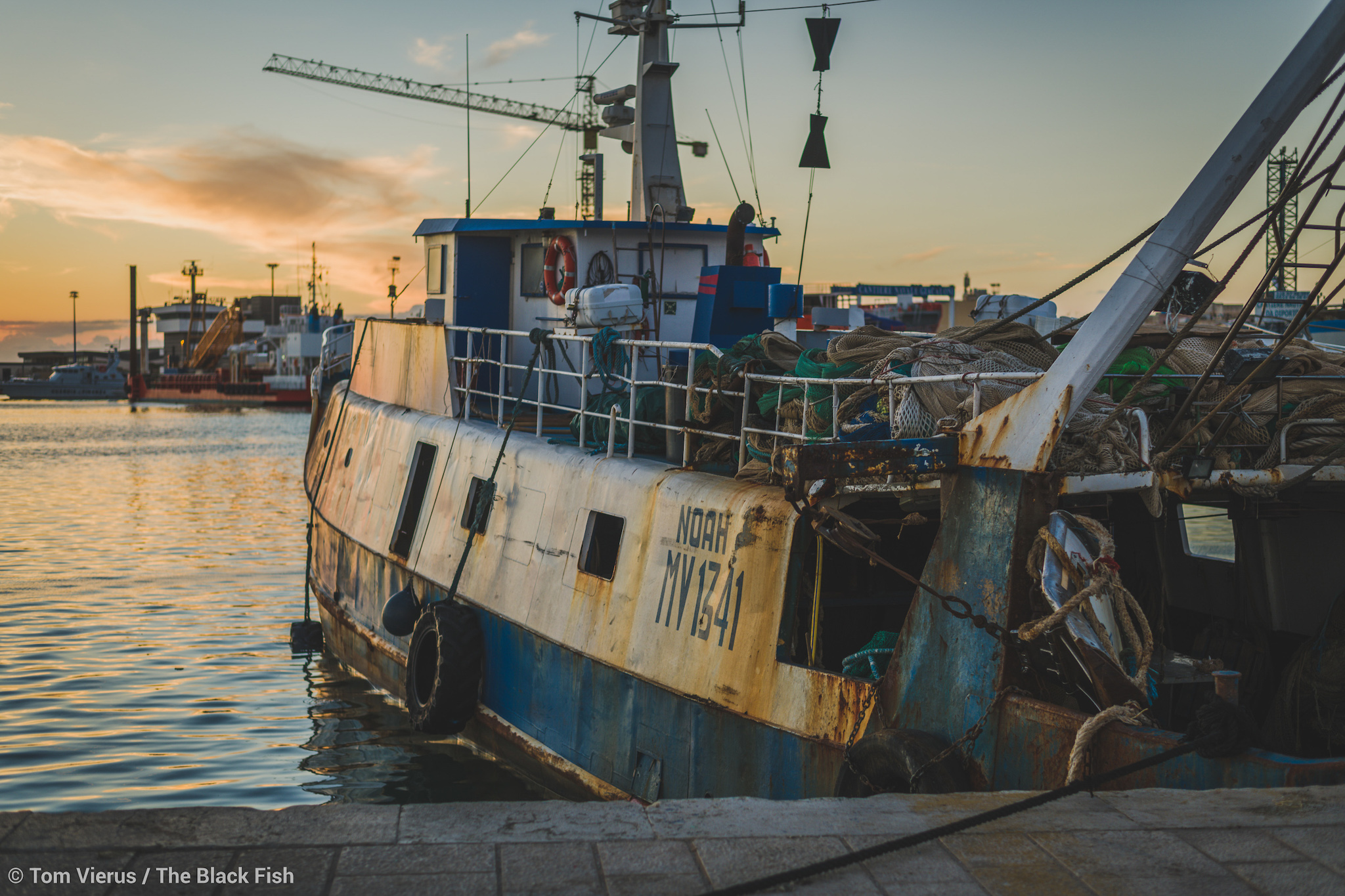 fishing vessel, italy, sicily,