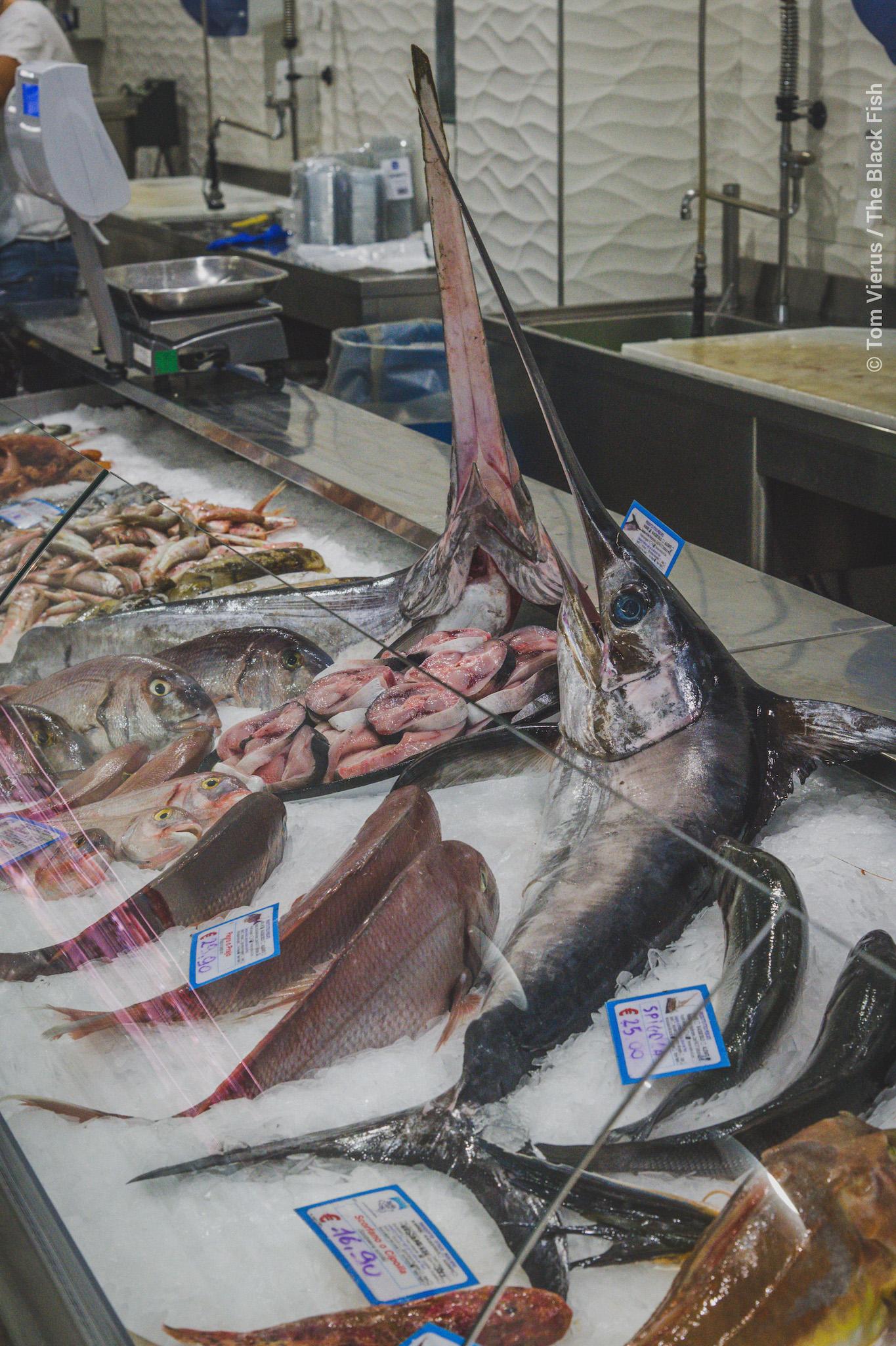 market, swordfish, sicily, campaign
