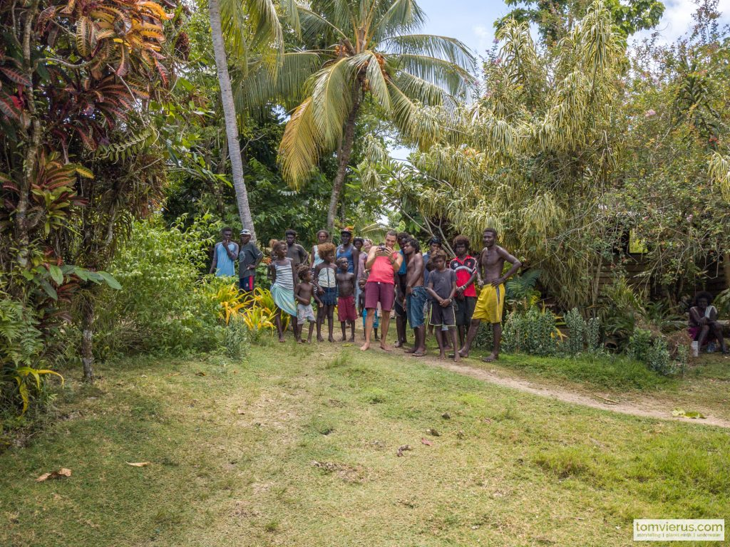 Drone, Solomon Islands, Pacific, community