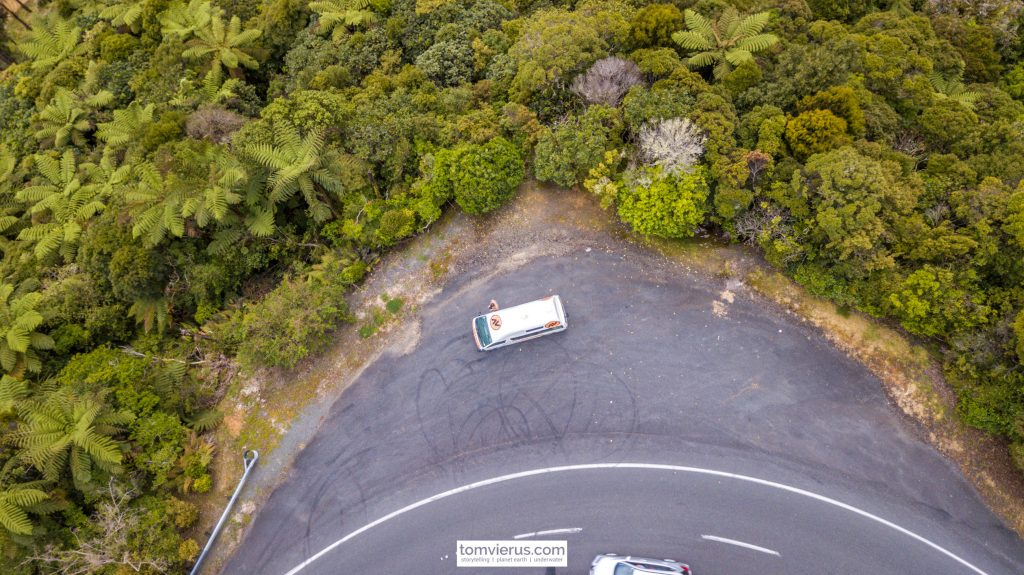 Dron,e nature, campervan, travel, adventure, northland