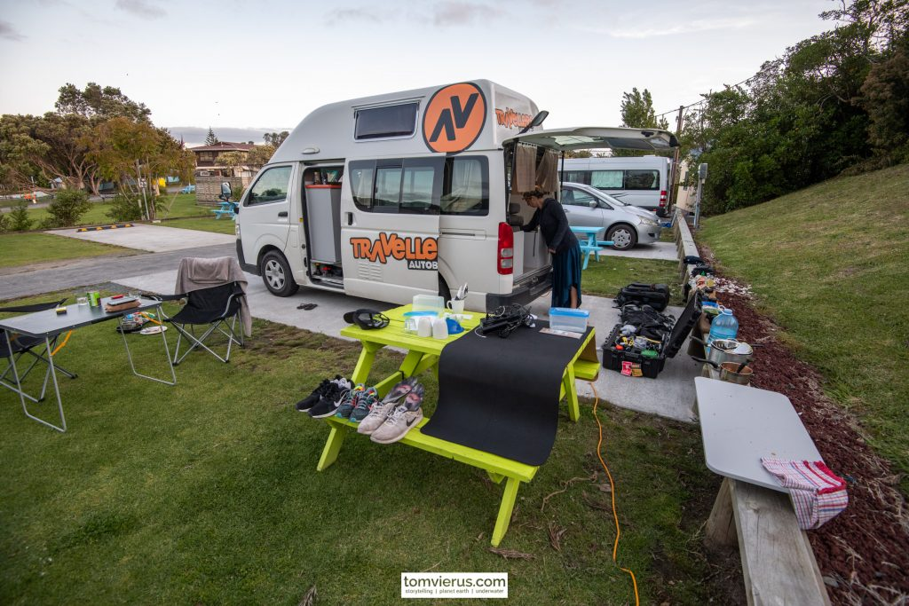New Zealand, Campervan, Camping, Gear