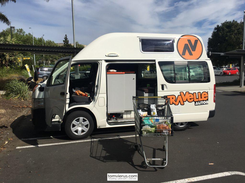 Campervan, New Zealand, Auckland, Travel