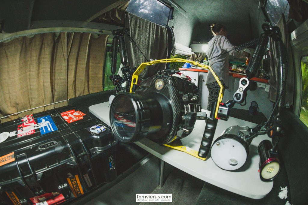 Campervan, Underwater Housing, Nikon, Diving, Travel, BS Kinetics
